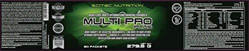 Scitec Nutrition Multi Pro Plus, Complexe minéral et de vitamines, 279,5 g