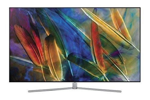 QLED 2017 55' UHD 4K Flat TV 4K Série Q7F, HDR 1500, une télécommande Premium Control, une connexion + câble invisible