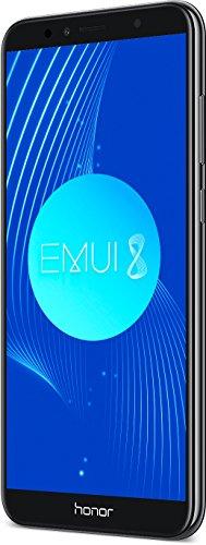HONOR 7A Smartphone Premium, écran 5,7', 4G, Octa Core, appareil photo 13MP et 8MP en façade, 3GB RAM, 32GB ROM, Noir