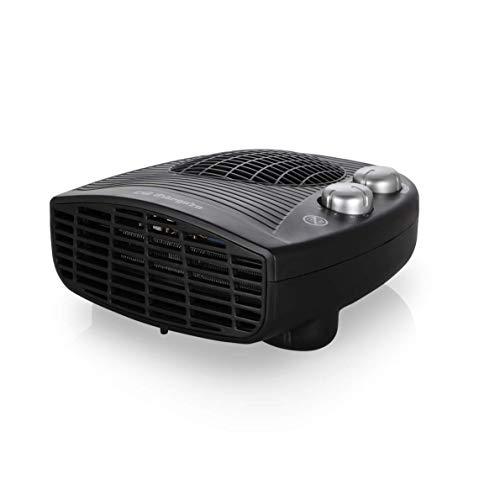 Orbegozo FH-5028 Chauffage électrique avec thermostat réglable, 2000 W de puissance, 2 positions de chauffage et fonction ventilateur.