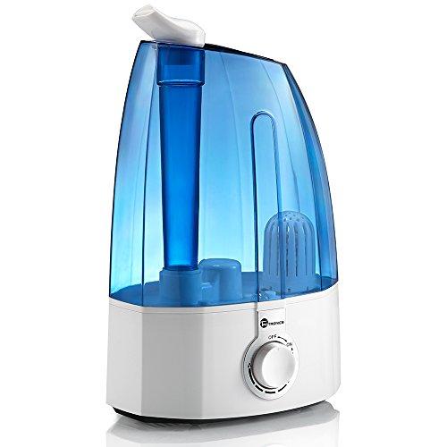 TaoTronics Humidificateur à ultrasons 3,5L Humidificateur bébé vapeur froide