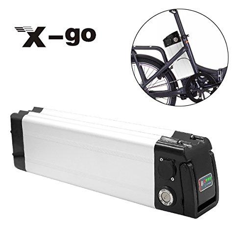 Batterie électrique pour vélo X-go, batterie électrique pour vélo Silver Fish (36V10A350W)