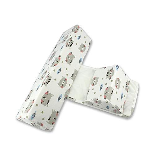 Oreiller de sommeil Hamkaw Baby Side Side, oreiller anti-bascule pour nouveau-né de 0-6 mois, couleur 3