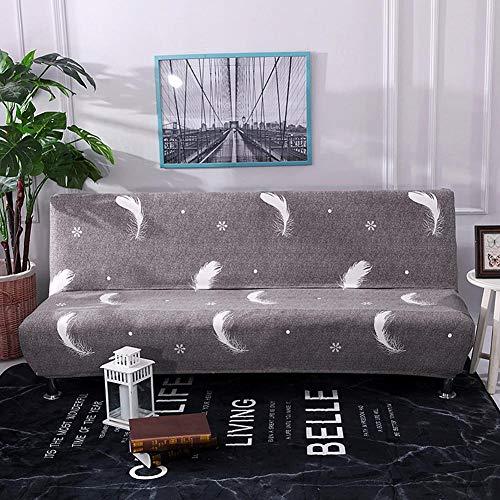 Housse de canapé sans accoudoirs élastiques, Protecteur de housse et d'une housse élastique pliable, Idéal pour canapé ou canapé-lit.