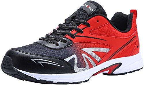 Chaussures de sécurité à pointe d'acier pour hommes, LM1805, Chaussures de travail avec semelles de travail ultra légères, souples et confortables, respirantes