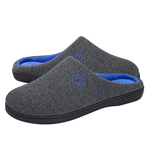 Chaussures de course à pied pour femmes Mishansha Home Running Chaussures Ultra Légères Confortables et Antidérapantes,Femmes Gris Foncé Hiver 40/41 EU