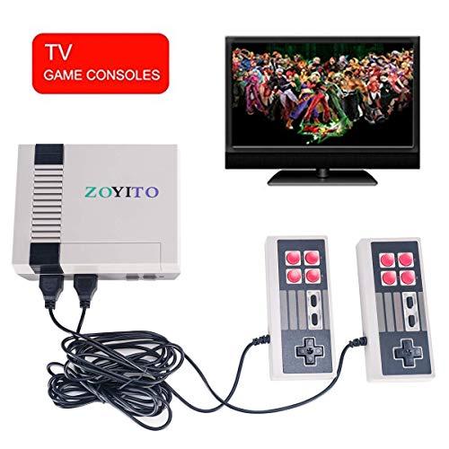 Console de jeu classique Retro Mini version 620 Classic Classic Jeux Retro Classic noir et blanc Console de jeu Système intégré dans 620 TV Jeu vidéo avec double contrôleurs joueurs