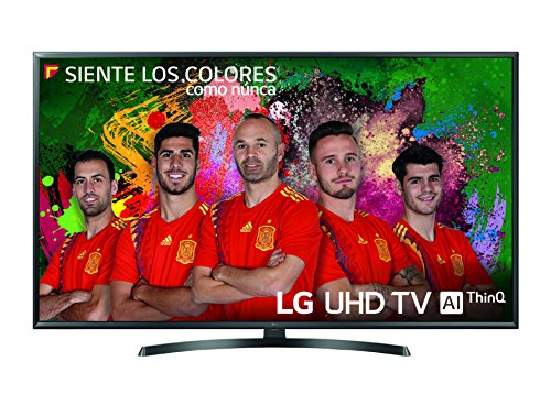 LG 49UK6470PLC - 49' Smart TV (LED, 4K UHD, Intelligence Artificielle, HDR, Wi-Fi), Couleur Noir