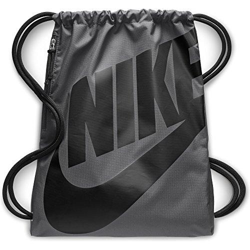 Nike BA5351, Sac à dos unisexe, Multicolore (gris / noir), Taille Unique (13l)