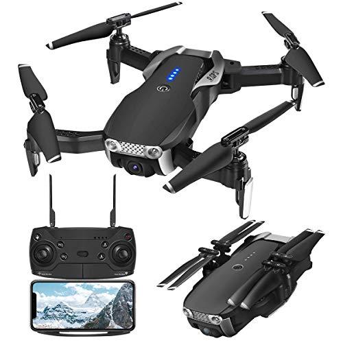 EACHINE E511S Drone avec caméra HD Drone avec stabilisateur GPS professionnel Drone 1080P pour enfants Drone avec caméra Drone x Pro RC Drone Drone pliable Drone App WiFi pour iOS/Android Drone Video