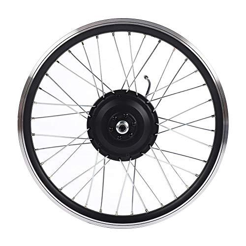 Ensemble de roues de bicyclette électrique 36V / 48V 350W, affichage à DEL 700C Kit de conversion de roues avant et arrière de bicyclette de route à moteur E-Bike (moteur avant)