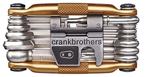 Crank Brothers Multi-19 - Golden Golden Golden Bicycle Tools Taille : taille unique pour tous