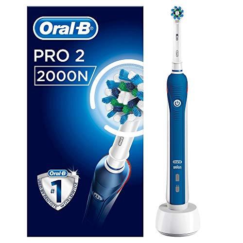 Oral-B PRO 2 2000N Brosse à dents électrique, rechargeable, une tête de rechange