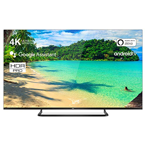 TCL 50EP680 TV TV 126 cm (50 pouces) Smart TV (4K UHD, HDR10 Pro, Micro Dimming Pro, Android TV, Alexa, Google Assistant)