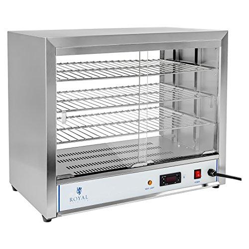 Royal Catering - RCHT-1000 - Hot Showcase - 1.000 watts - 3 plateaux - Livraison gratuite