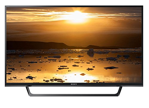 Sony KDL-40WE660 - Téléviseur intelligent DEL Full HD 40' (Motionflow XR 200 Hz, X-Reality Pro, compatible HDR, Wi-Fi), noir