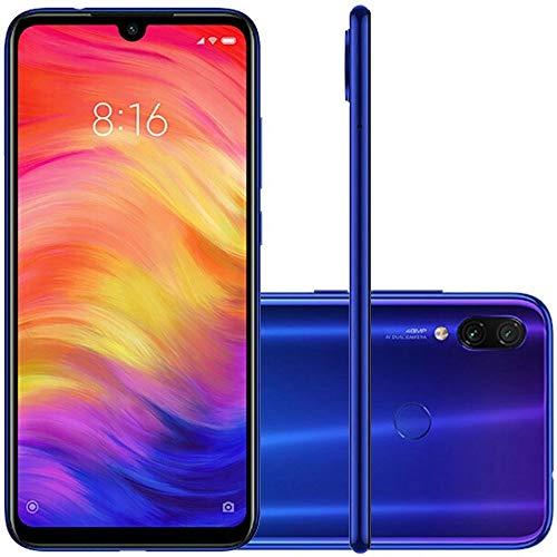 Xiaomi Redmi Note 7 16 cm (6.3') 4 Go 64 Go Double SIM Hybrid Slot 4G Blue 4000 mAh - Smartphone (16 cm (6.3'), 4 Go, 64 Go, 48 MP, Android 9.0, Blue)