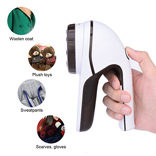 CkeyiN Electric Lint Remover to Remove Lint and Ball from Your Clothes 3 niveaux de vitesse Utilisation sans fil réglable
