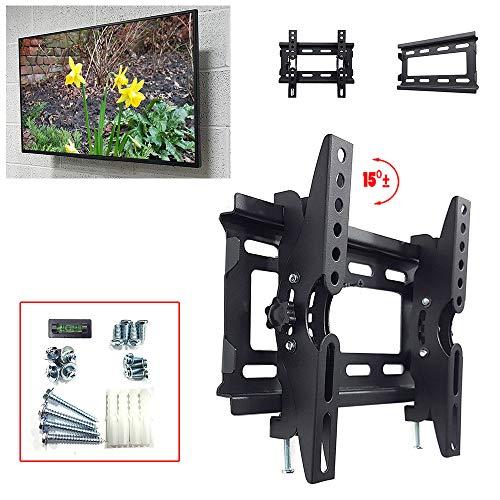 TAHA - Support mural pour TV plasma LCD OLED de 14 à 49 pouces (200 x 200 mm, jusqu'à 40 kg)