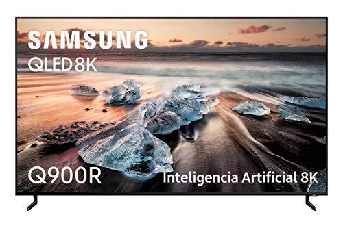 Samsung QLED TV 8K 65Q900R - Résolution QLED 8K 65', Intelligence Artificielle, HDR 3000, Smart TV, Une télécommande Premium