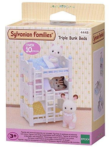 FAMILLES SYLVANIENNES - Triples couchettes (Époque à Imagine 4448)