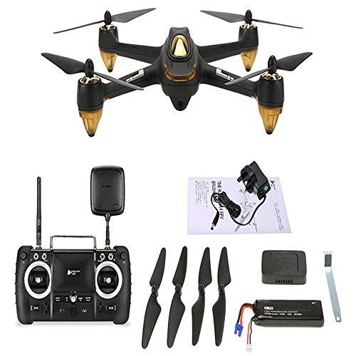 Hubsan H501s x4 Pro 5.8G FPV Quadricopter 5.8G Quadricopter 10 Plus canaux sans tête GPS RTF Dron avec caméra 3M pixels (Noir)