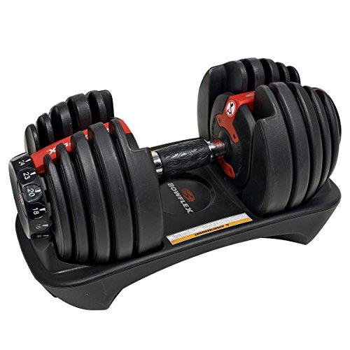 Bowflex SelectTech 552i haltères de ménage réglables, Unisexe adulte, rouge, noir, gris, taille unique