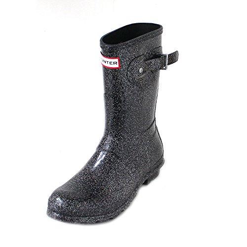 Hunter Original Femme Noir Multi Short Starcloud Boots-UK 4