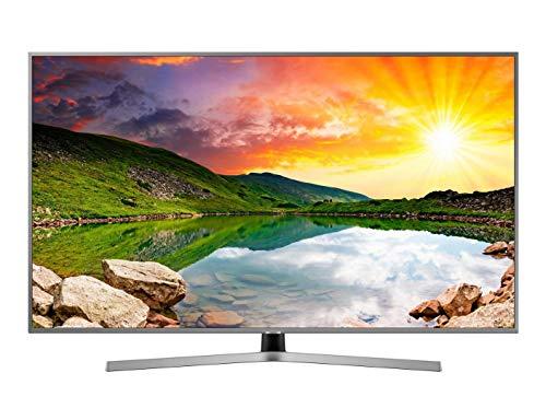 Samsung 43NU7475 - 43' 4K 4K UHD HDR Smart TV (écran mince, Quad Core, une télécommande, 3 HDMI, 2 USB), couleur argent (Eclipse Silver)