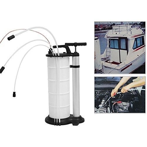 Pompe manuelle à vide manuelle pour le transfert de carburant d'essence de moteur à essence (7L)