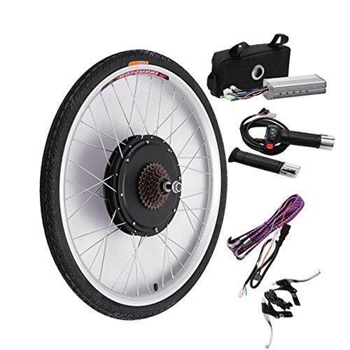 Moteur électrique Moteur Moteur Kit de conversion de bicyclette pour roues de bicyclette (48 V 500 W) Affichage LCD/LED