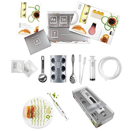 Kit de base complet de cuisine moléculaire, set pour débutants et art culinaire, seringue et seringue de marinade, spécial Double pack, Cuisine créative
