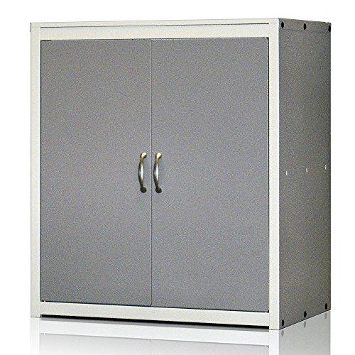 Armoire métallique Série Venise. Fermeture magnétique. Med. 900x800x500x500 mm. Démonté