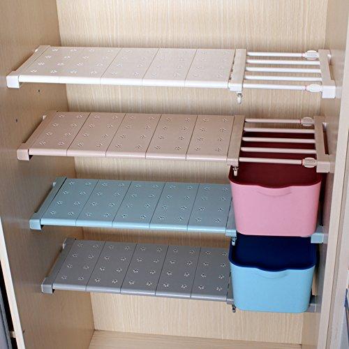 étagère de rangement télescopique aevel armoire à clous gratuite pour Kithchen, Caddy, armoire de salle de bains, armoires, étagères, étagères compartiment de rangement Prop collection compartiment extensible de 56 à 95 cm réglable