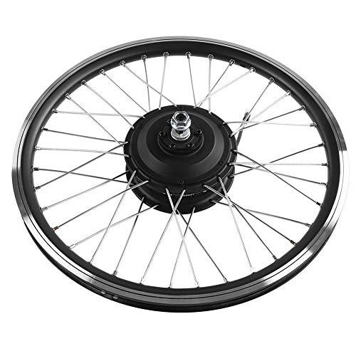 Ensemble de roues de vélo électrique Bnineteam 36V / 48V 350W, affichage DEL, roue avant/arrière 20' Moteur E-Bike Road Bike Kit de conversion (moteur arrière)