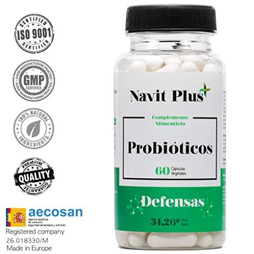Probiotiques - 10 milliards CFU. Nouvelle formule à large spectre potentialisée pour améliorer la flore intestinale et le système immunitaire. 60 gélules végétales. Ingrédients d'une efficacité maximale.