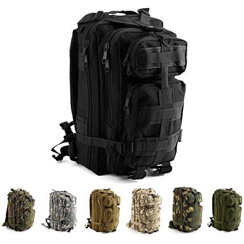 IVIM Sac à dos tactique militaire étanche 30L pour la marche, la randonnée, l'alpinisme, la randonnée pédestre, le camping, le trekking, la chasse et le vélo de plein air