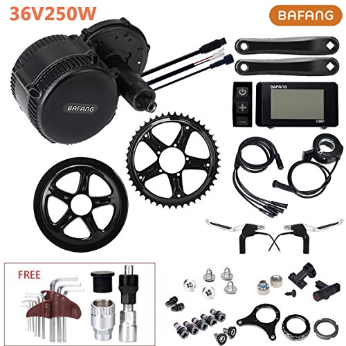 Moteur central BAFANG 36V 250W 8Fun Kit de conversion pour les vélos électriques Adapté aux vélos standard
