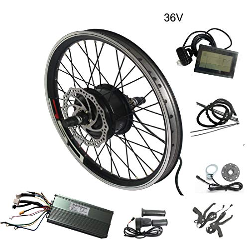 WENHU 26 pouces 48v Vélo 1000w-électrique Batterie Batterie Vélo électrique Kit de conversion Vélo électrique Roue motrice Vélo Ebike E
