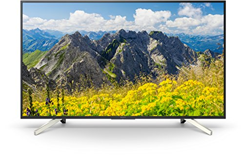 Sony KD-43XF7596 - Téléviseur LED 4K HDR 43' avec TV Android (Motionflow XR 400 Hz, 4K X-Reality PRO, Wi-Fi), noir