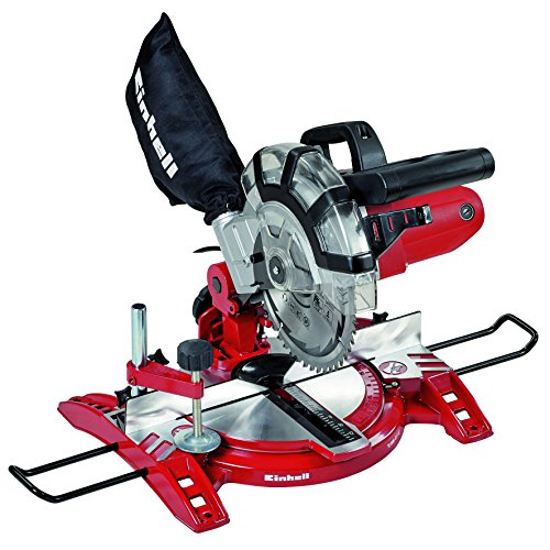 Einhell TH-MS 2112 - Mitre, coupe transversale, 1600 W, 230 V, rouge (réf. 4300295)