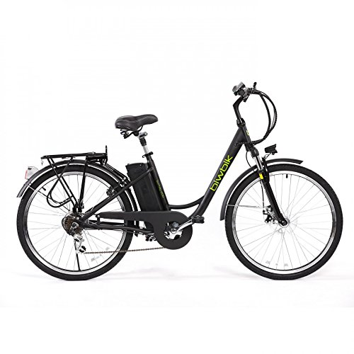 Bicyclette ELECTRICA Mod Sunray 200 BATTERY Ion Lithium 36V10AH (Noir)