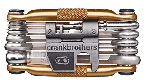 Crank Brothers Multi-17 - Golden Golden Golden Bicycle Tools Taille:Taille unique pour tous