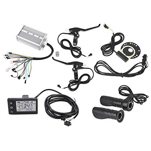 Kit contrôleur de moteur Dioche, 36V / 48V 1500W Kit de panneau LCD sans balais pour scooter électrique de bicyclette E-Bike