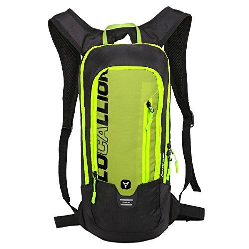 Sacs à dos Local Lion 6L Hydratation Outdoor Cycling Imperméable Unisexe Polyester Multifonctionnel pour Voyage Vert