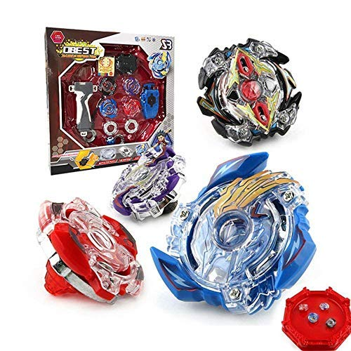 OBEST NIU Spinning Spinning Spinning Spinning Spinning Spinning Metal Sets 4D 4 Box Gyro Master Struggle Chain Launcher avec Infinity Swim Stadium
