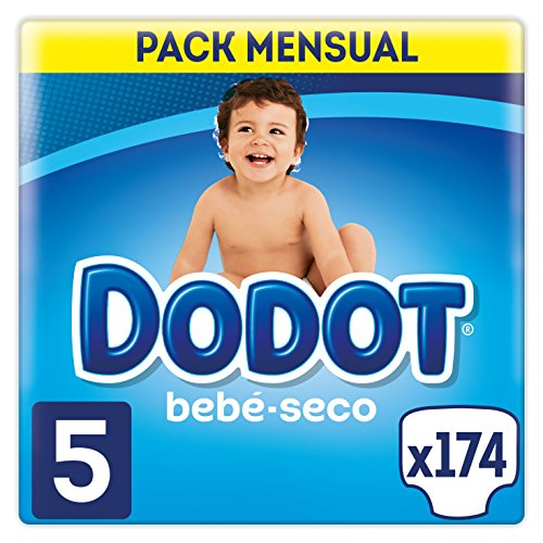 Dodot Baby-Dry - Couches avec canaux d'aération, Taille 5 (11-16 kg) - 174 Couches