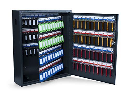 Pavo 8047215 Boîte à clés haute sécurité (capacité jusqu'à 150 unités) gris