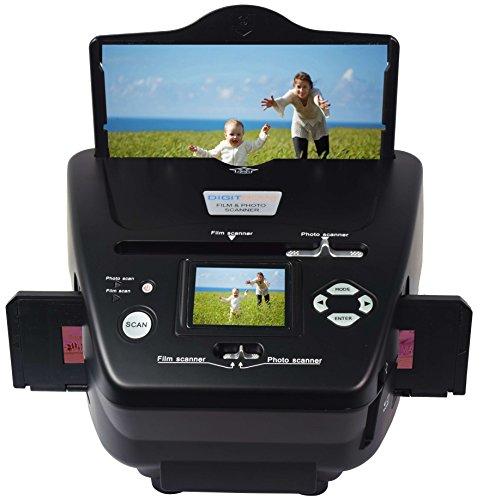 DIGITNOW ! Scanner de film de 5,1 mégapixels pour négatifs, diapositives et photos 35 mm