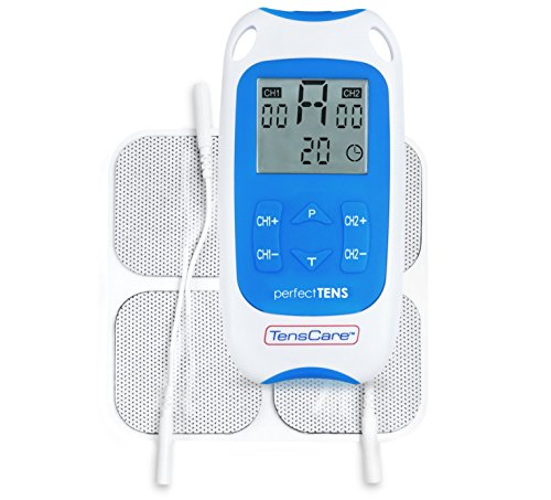 TensCare Perfect TENS - appareil d'électrostimulation cliniquement prouvé pour le soulagement de la douleur